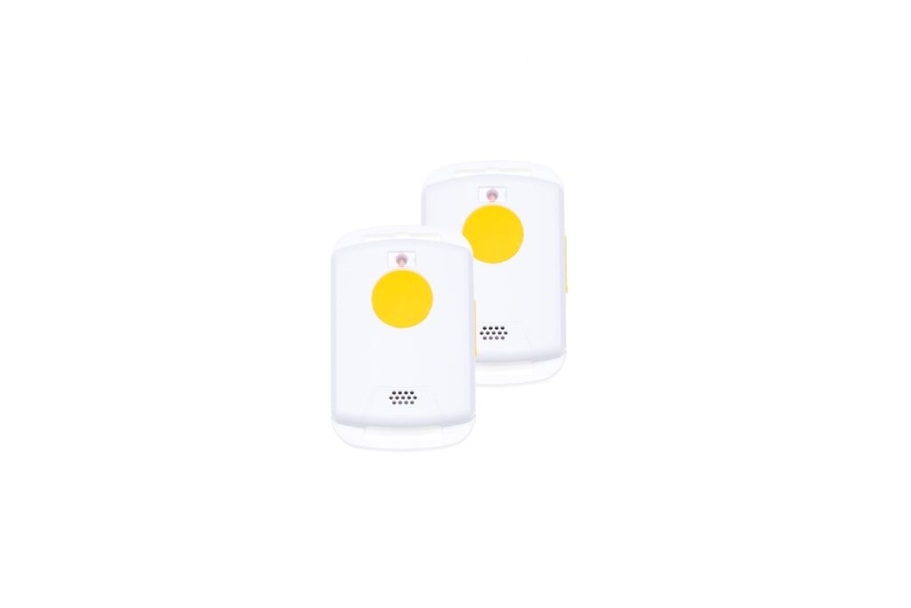 Voordeel pack: 2 stuks Paniekknop met 2-wegs communicatie