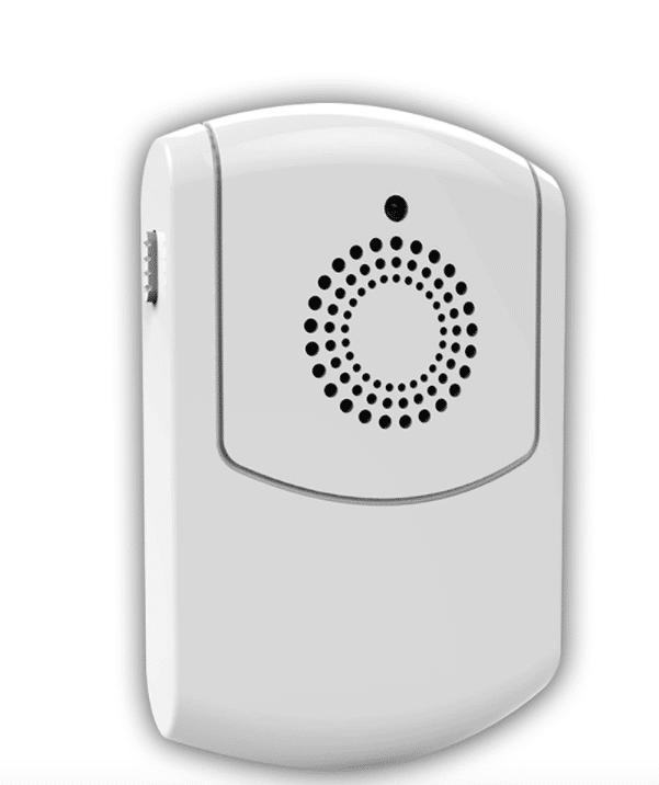 Alarmsysteem met interne melder